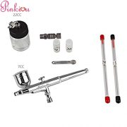 1-4-1pinkiou-trigger-air-brush-kit-05mm-needle-airbrush-spray-gun-for-body-paint-tattoo-art-nail-painting-0