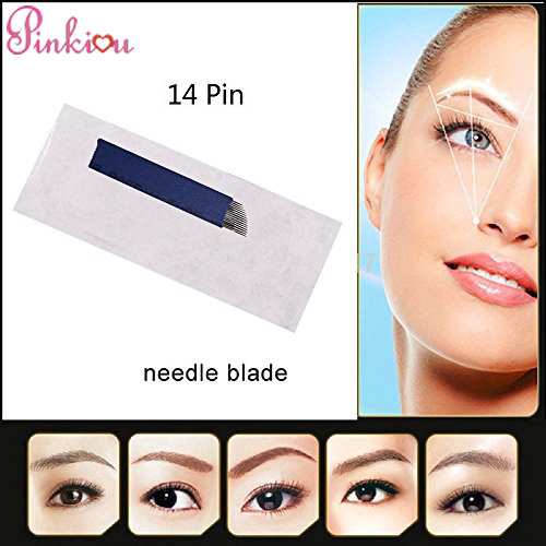 3-3-1pinkiou-permanent-makeup-eyebrow-hair-stroked-tattoo-blade-14-pin-needles-for-manual-tattoo-pen-pack-of-50pcs-0