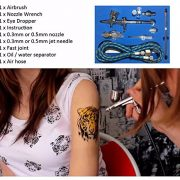 Pinkiou-Airbrush-Double-Action-Kit-SP180KTG-03mm-Needle-Temporary-Tattoo-Spray-Gun-1-Set-0-0