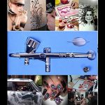 Pinkiou-Dual-Action-makeup-Airbrush-Kit-1-Set-tattoo-mini-Car-Cake-Air-Brush-Painting-0-4