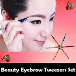 Pinkiou-Professional-Slant-tip-Eyebrow-Tweezers-beauty-cosmetic-makeup-clip-6-style-pack-of-6-pcs-Korea-0-6