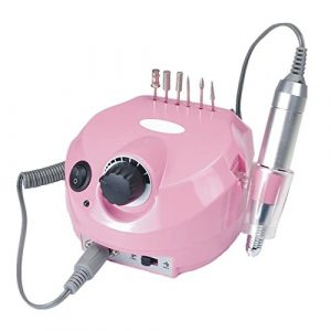 Pinkiou-35000-RPM-Electric-Nail-Drill-Machine-Buffer-Bit-Manicure-Pedicure-Kit-Set-Pink-0