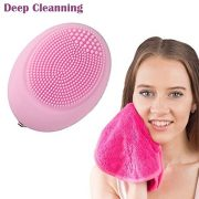 Pinkiou-Electric-Waterproof-Face-Cleaner-Facial-Deep-Cleansing-Brush-Massager-Exfoliator-Portable-Silicone-Brush-0-4