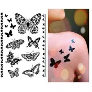 Pinkiou-Henna-Tattoo-Stickers-Lace-Mehendi-Temporary-Tattoos-for-Maverick-Women-Teens-Girls-Metallic-Tattooing-Pack-of-6-0-4