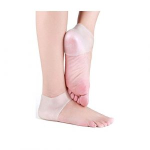 Pinkiou-Heel-Protector-sleeve-unisex-Silicone-moisturizing-heel-sock-cracked-Skin-pain-relieve-pedicure-0