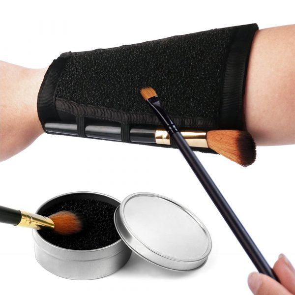 Makeup Brushes Color Removal Cleaner Sponge