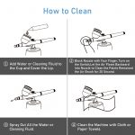 how to clean a airbrush